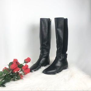 Tory Burch Wyatt Riding Boots 7.5M